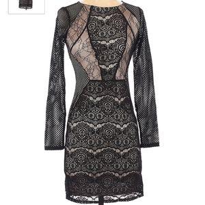 Topshop | Black Cocktail Dress